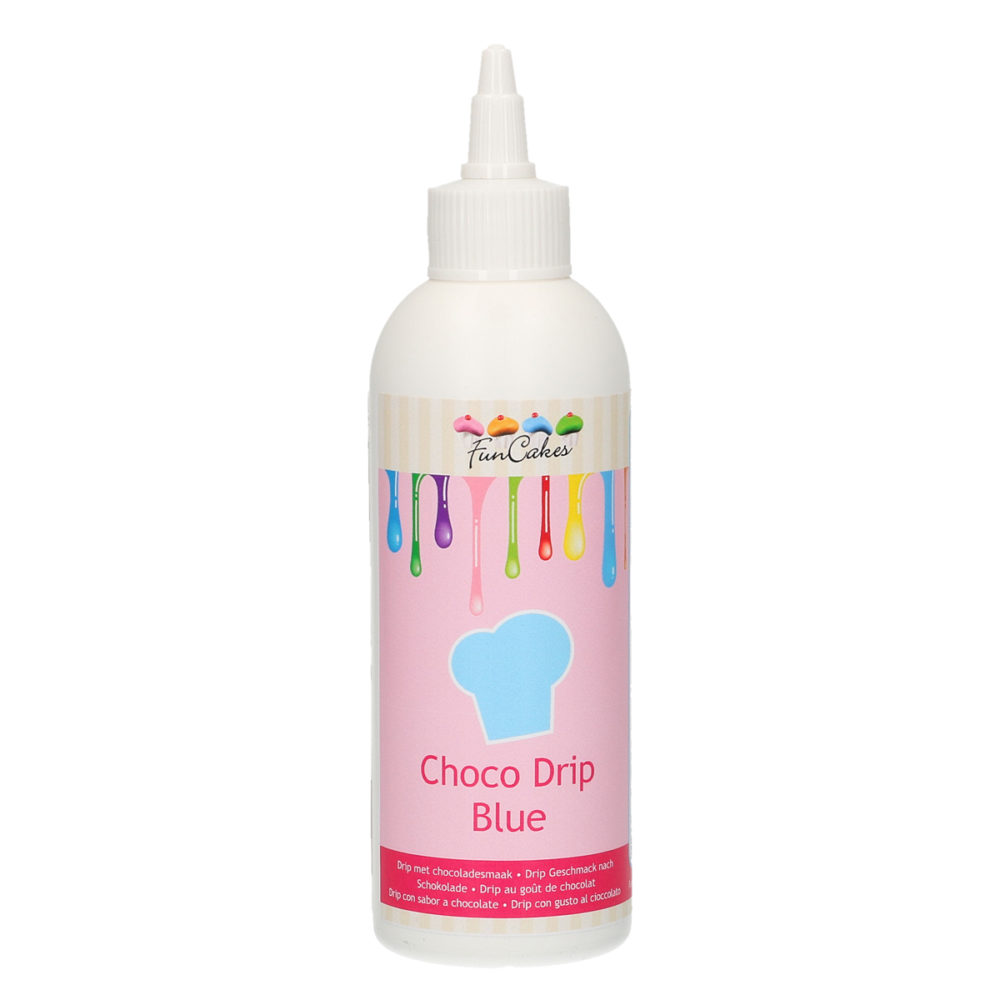 Choco Drip Blue