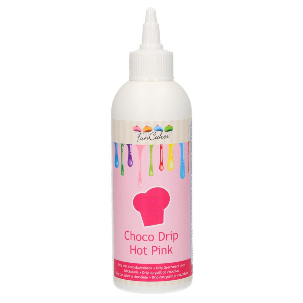 Choco Drip Hot Pink