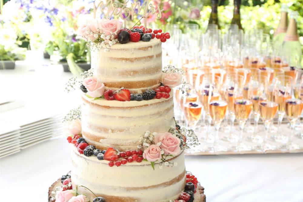 Naked Wedding Cake Funcakes