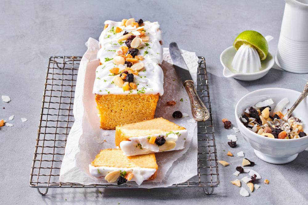 Vegan Cake met glazuur