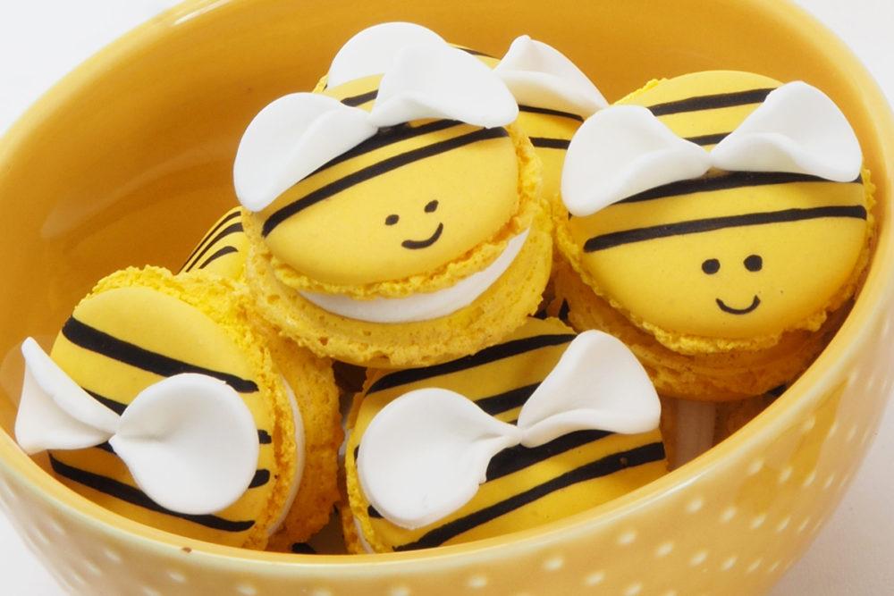 Bijenmacarons