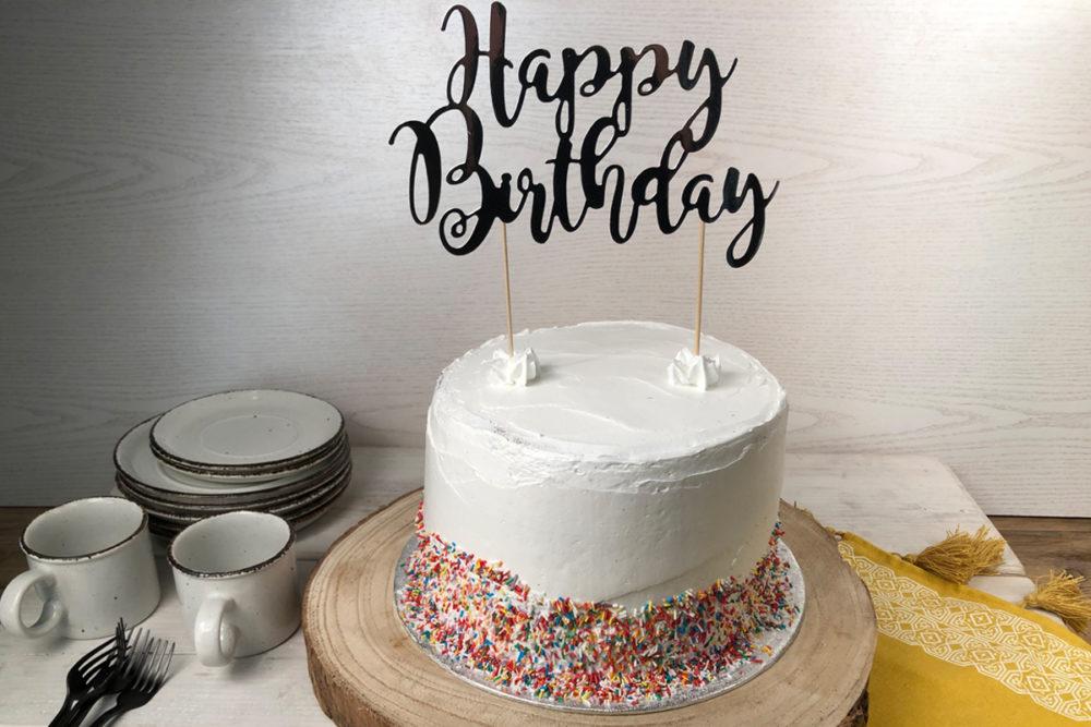 Choco birthday cake