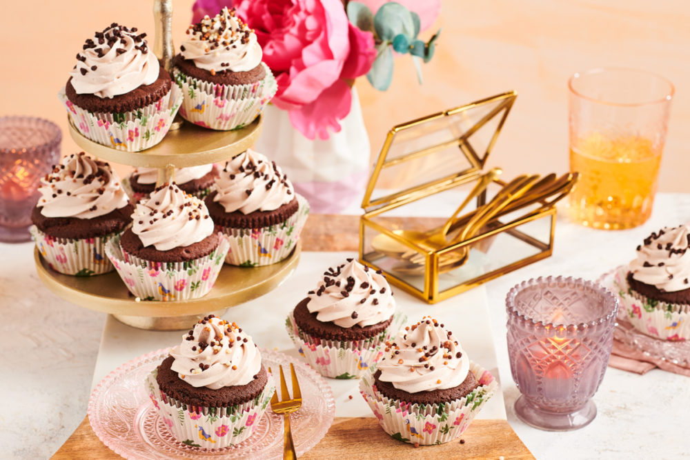 Licor 43 brownie cupcakes