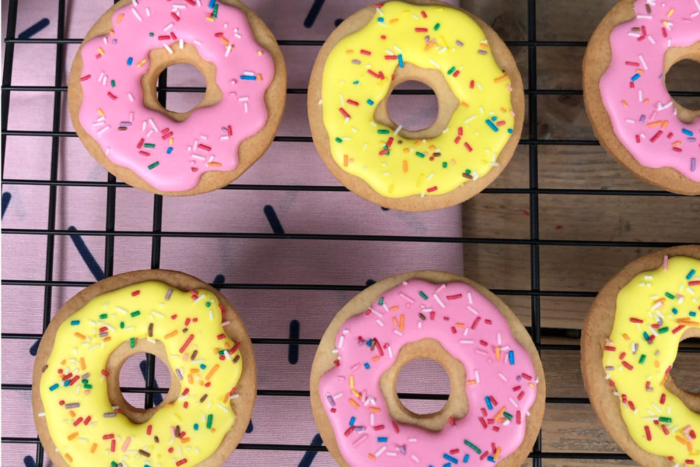 Cookie donuts