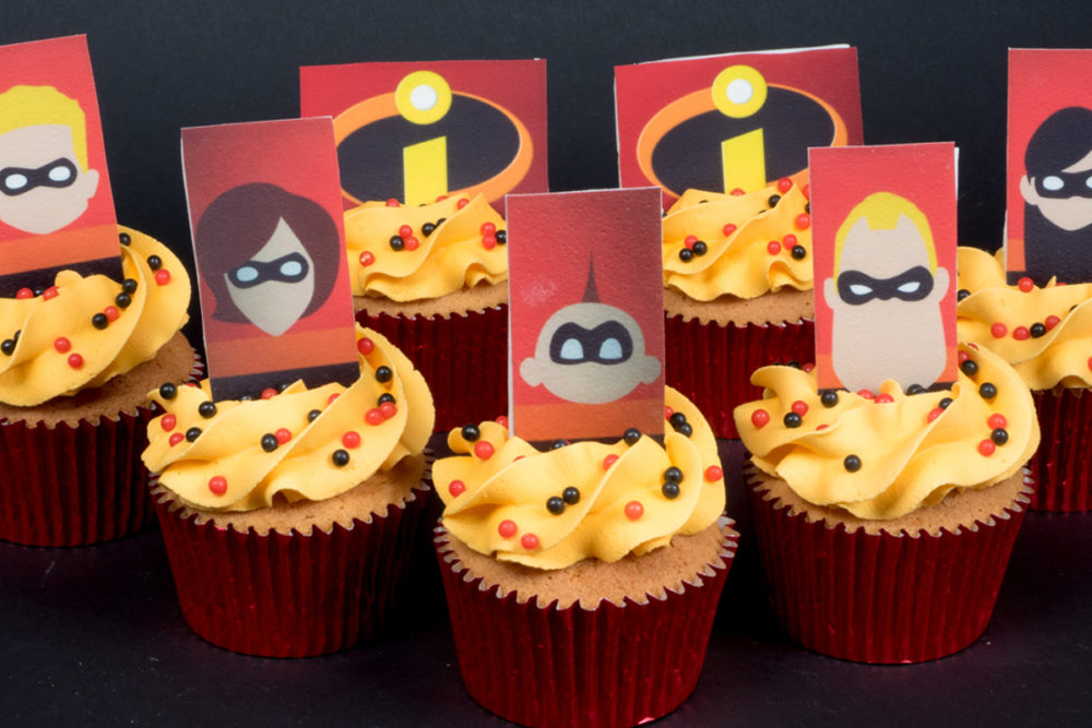 The Incredible cupcakes