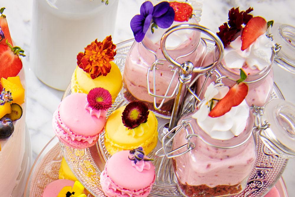 Red Velvet bavarois dessert