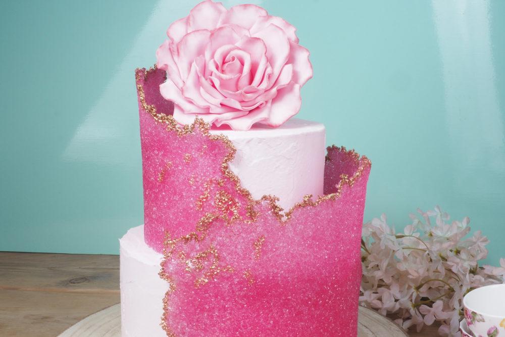 Sugarsheet taart