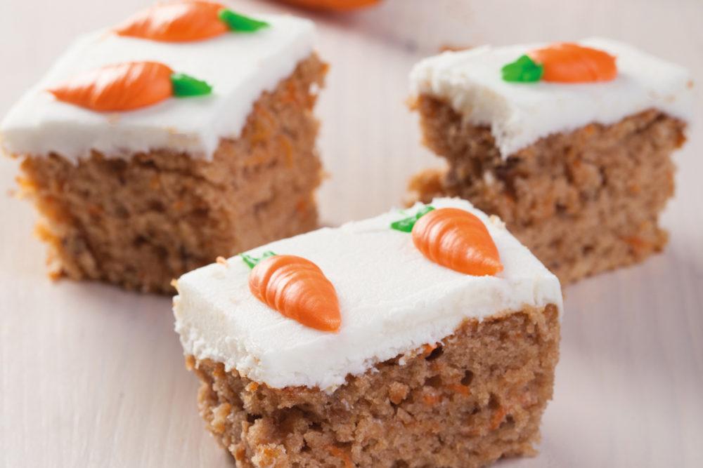 Carrot Cake met overheerlijk zoet glazuur