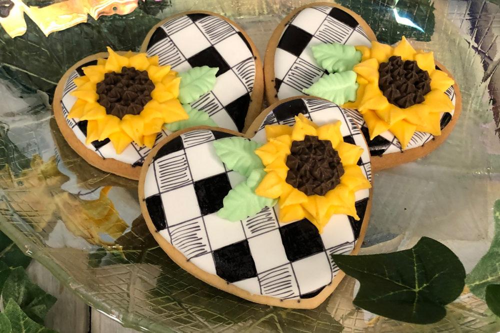 Bloemen koekjes