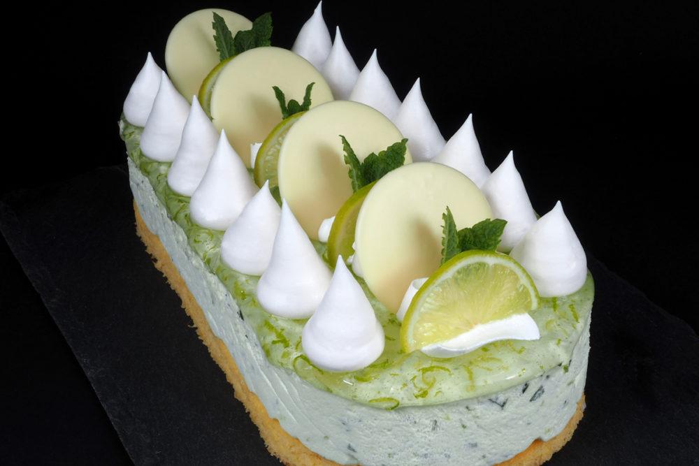 Mojito bavarois cake