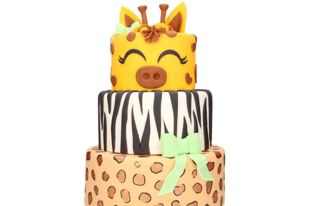 Animal stack cake