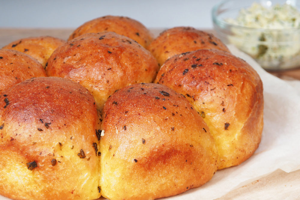 Knoflook breekbrood