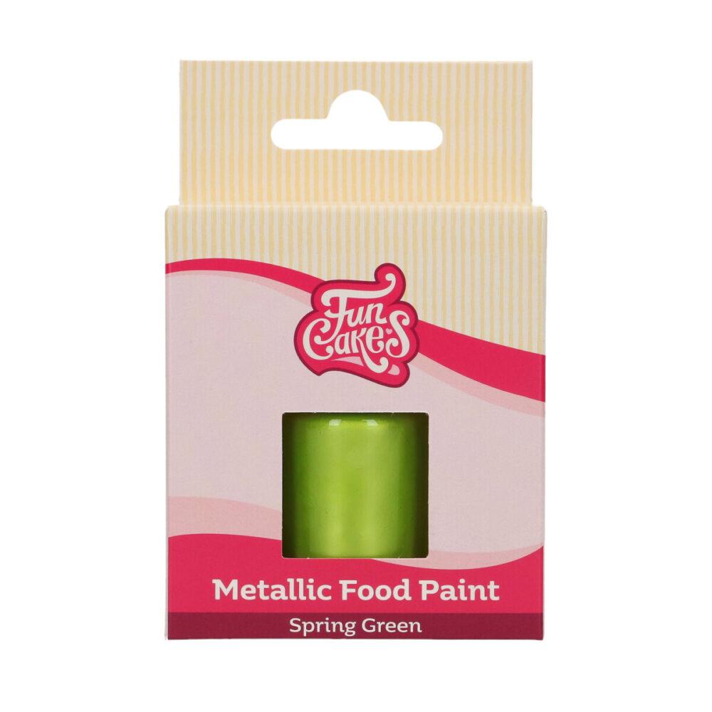 Metallic Food Paint Lentegroen