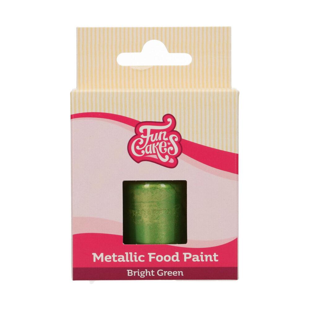 Metallic Food Paint Felgroen
