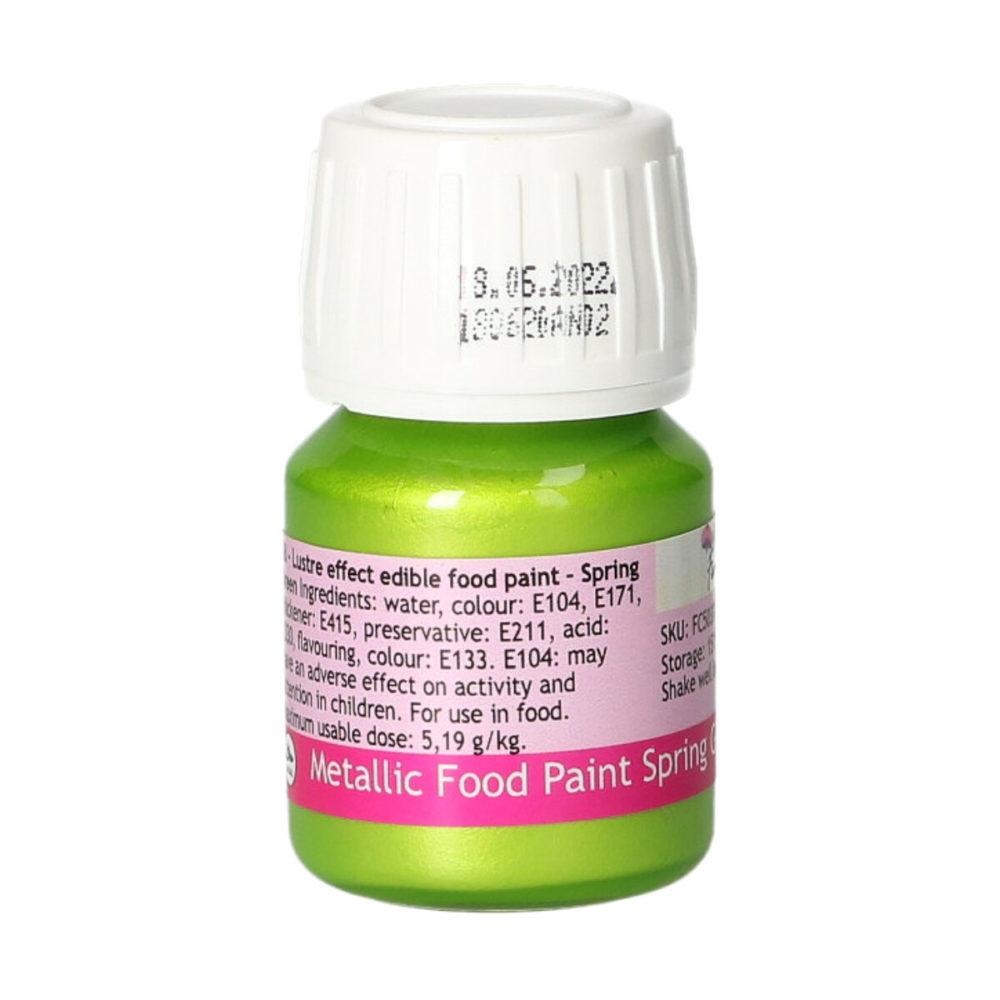 FunCakes Metallic Food Paint Spring Green2