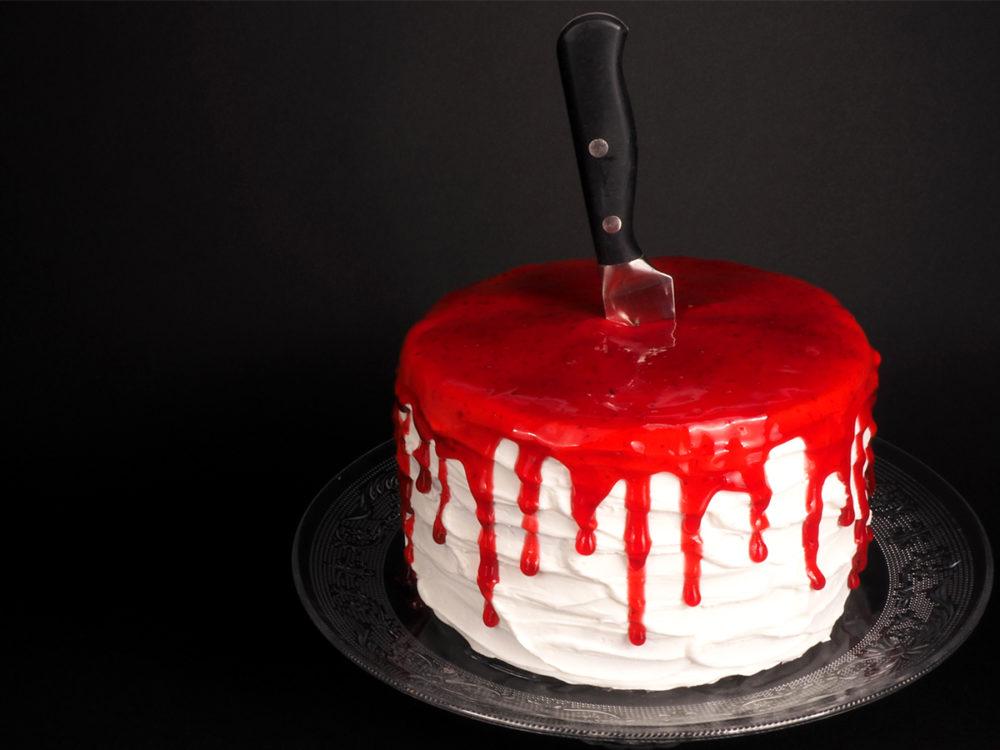 Bloederige Red Velvet Cake