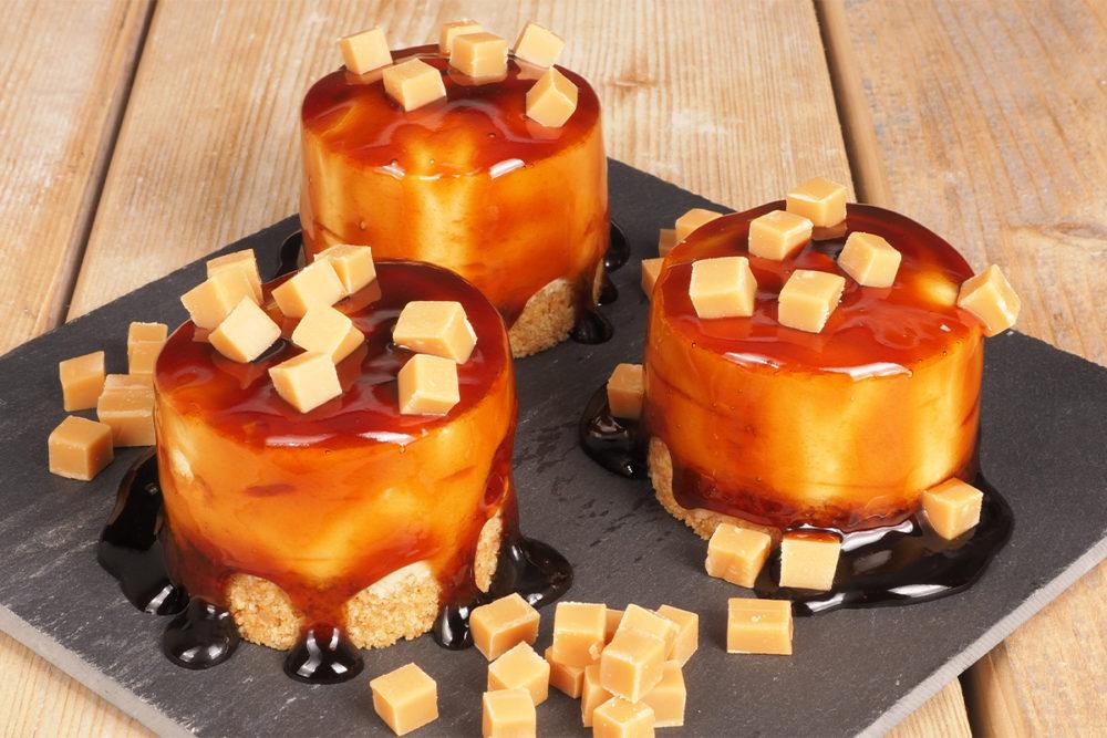 Divine caramel pastries