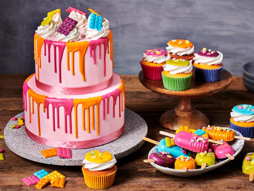 Deco Melts cupcakes