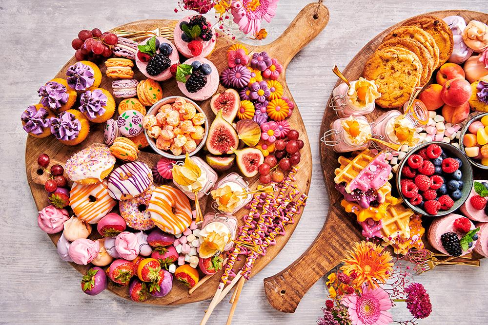 Graze Away Cookie & Crust forest fruit bavarois