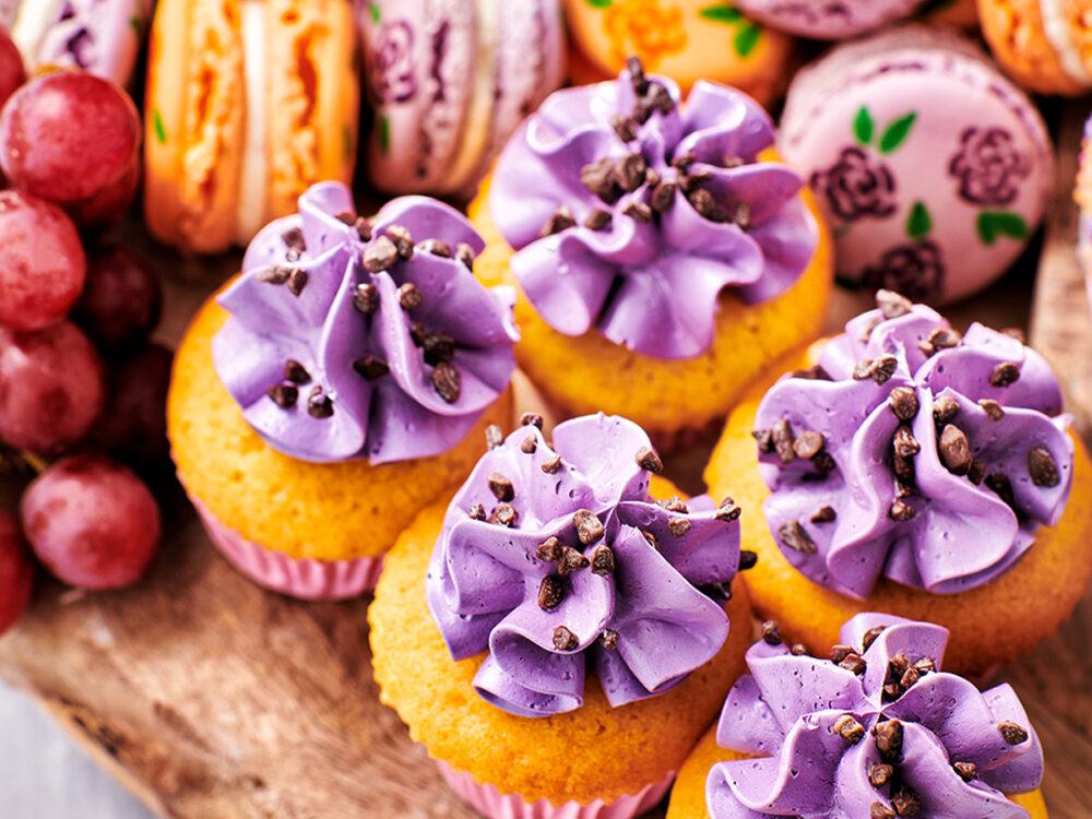Graze Away Witte Chocolade Cupcakes